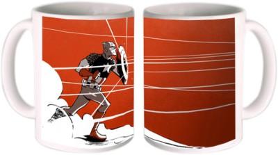 Shopkeeda Captain America Ceramic Mug
