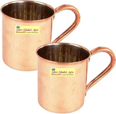 SSA Set of 2 C/N Plane Copper Mug