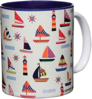 The Elephant Company Seafarer Ceramic Mug