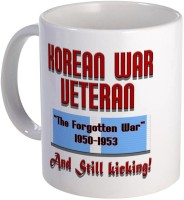 Muggies Magic Korean War Veteran Coffee, Novelty Coffee Cup Ceramic Mug