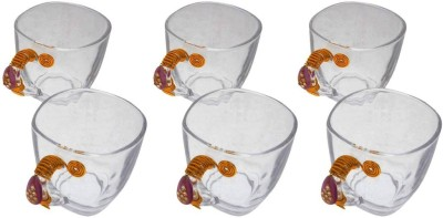 JewelKraft Designs Jaipur Pink Dangler Glass Mug