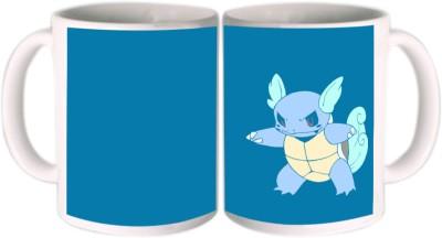 Shopkeeda Cartoon Turtle Ceramic Mug