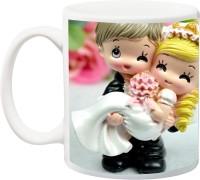 iZor Gift for Husband/Wife/Mom/Dad/Couples/Lover;Happy birthday anniversary valentines day printed Ceramic Mug