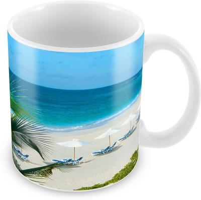 Prinzox Lovely Holidays Ceramic Mug