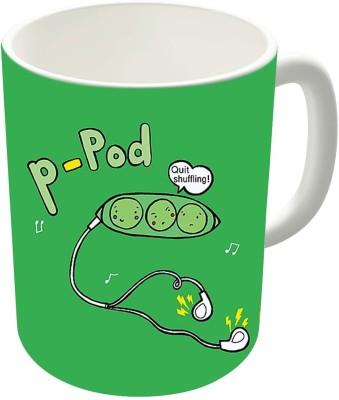 Dreambolic P-Pod Ceramic Coffee Ceramic Mug