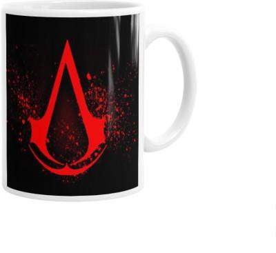 Hainaworld Assassins Creed Red Mark Coffee  Ceramic Mug
