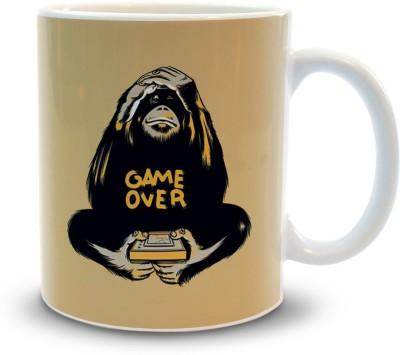 Shoppers Bucket Shoppers Bucket Game Over Ceramic Mug(300 ml)