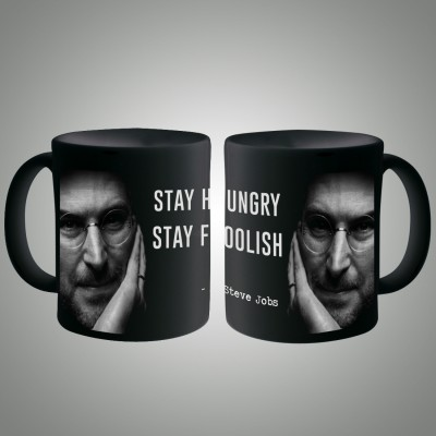 Posterboy Steve Jobs - Stay Hungry Ceramic Mug