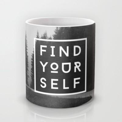 Astrode Find Yourself Ceramic Mug
