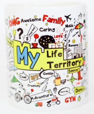 Blitzen 11oz-MLMTW Ceramic Mug