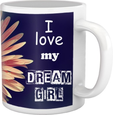 Tiedribbons I Love My Dream Girl Coffee Ceramic Mug