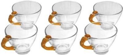 JewelKraft Designs Conical Glass Mug