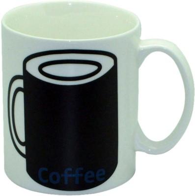 Just For Decor Heat Sensitive Coffee Ceramic Mug