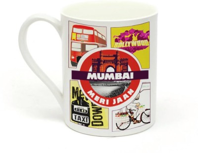 Sowing Happiness Mumbai Meri Jaan Ceramic Mug