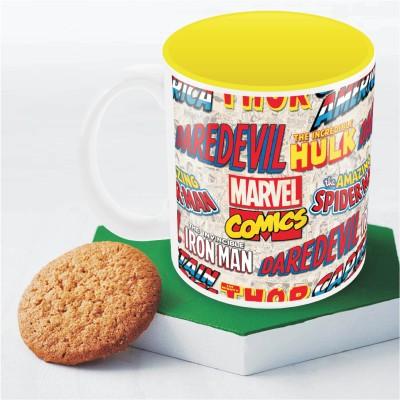 Marvel Comics logos  Officially Licensed Ceramic Mug