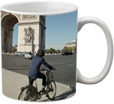 Romanshopping Cycle Europe  Bone China Mug