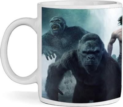 SBBT Gorila with Guy Ceramic Mug