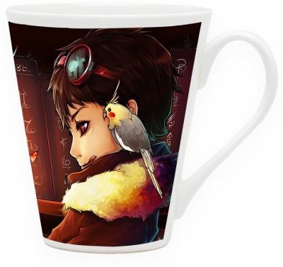 HomeSoGood Beautiful Parrot Crusader Ceramic Mug