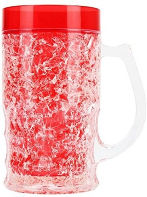 Toygully Attractive Acrylic Frosty  with Freezing Gel for Juice, Beer, Soft Drinks, Water. Perfect Plastic Mug