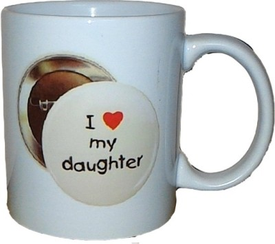 Exxact I Love My Daughter Ceramic Mug