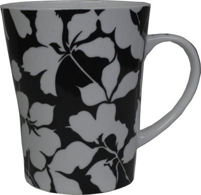 Neos Dark Flower Ceramic Mug