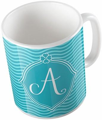 Uptown 18 A Abstract Ceramic Mug