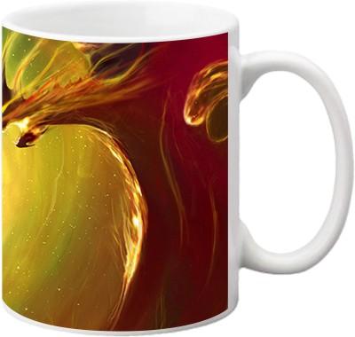 ezyPRNT Dragon art Ceramic Mug