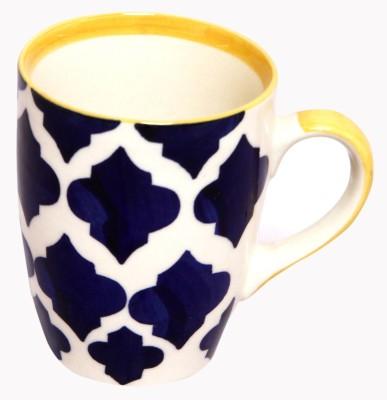 Earthern Blue hal Era Ceramic Mug