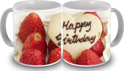 PSK Happy Birthday Set of Two Cake 68 Ceramic Mug