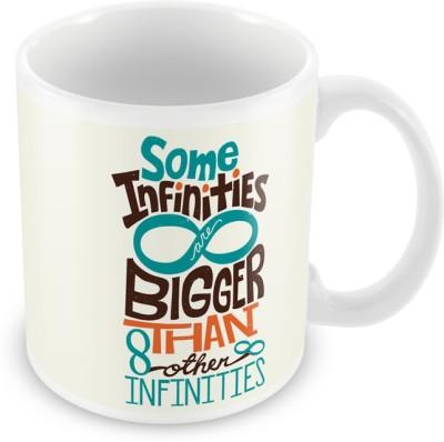 AKUP some infinities are bigger than other infinities Ceramic Mug
