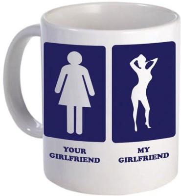 Giftsmate Your Girlfriend My Girlfriend Ceramic Mug