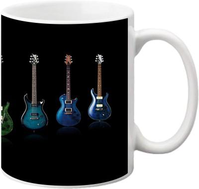 ezyPRNT Many Guitars Ceramic Mug