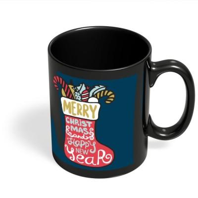 PosterGuy Santa Sock Christmas Christmas Gift, Christmas Sock, New Year, Santa Claus, Gifts For Her Ceramic Mug