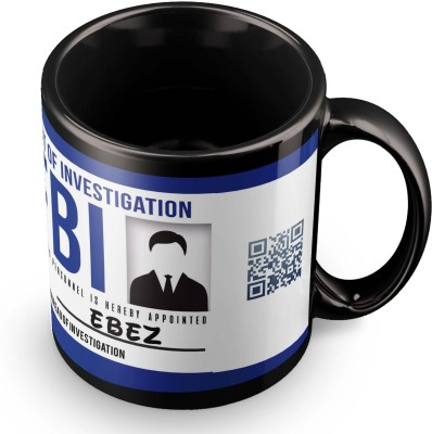 posterchacha Ebez FBI Id Tea And Coffee Ceramic Mug(300 ml)
