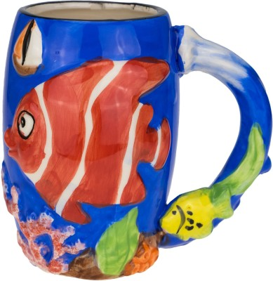 Avenue Fish Ceramic Mug