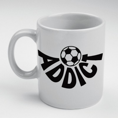 Prokyde Prokyde FOOTBALL ADDICT  Ceramic Mug