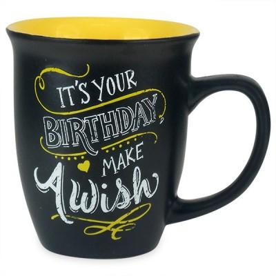 Archies Make A Birthday Wish Chalk Effect  Ceramic Mug