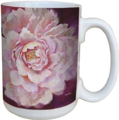 Tree-Free Greetings Greetings lm43733 Pink Something Wonderful Rose by Nel Whatmore Ceramic, 15-Ounce Ceramic Mug(60 ml) at flipkart