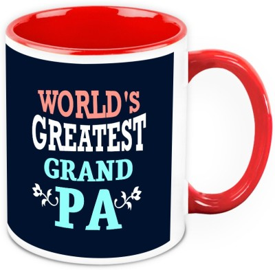 HomeSoGood  For Grandfather - World,s Greatest Grandpa Ceramic Mug