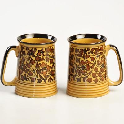 cultural concepts Heritage Beer s - Set of 2 Ceramic Mug