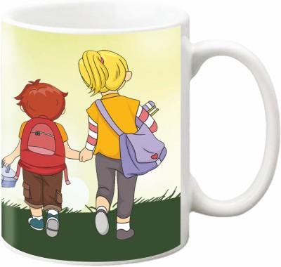ezyPRNT Brother Sister Unity Ceramic Mug