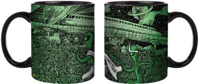 Posterboy Alien Apu Alien Durga Ceramic Mug