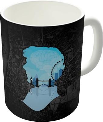 Dreambolic Sherlocks,S London Graphic Coffee Ceramic Mug