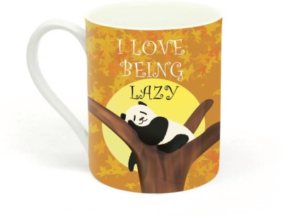 Sowing Happiness Being Lazy Ceramic Mug