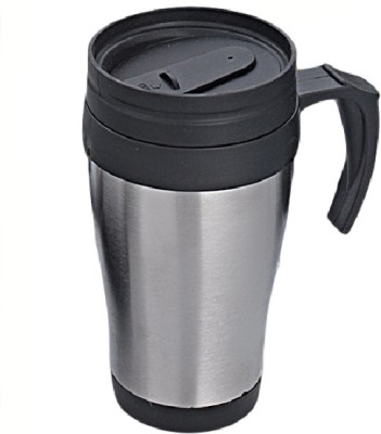 Gromo High Quality Inside Plastic Outside Steel Plastic Mug