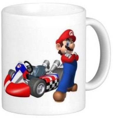 G&G Mario Racing Ceramic Mug
