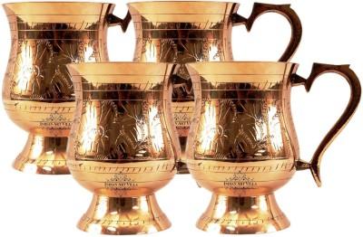 IndianArtVilla IAV-CB-1-689 Brass Mug