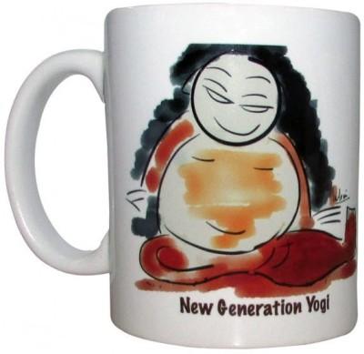 Indha Craft New Generation Yog Ceramic Mug