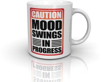 Seven Rays Mood Swings In Progress Ceramic Mug