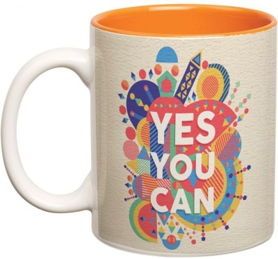 Prithish Yes You Can Double Color Ceramic Mug